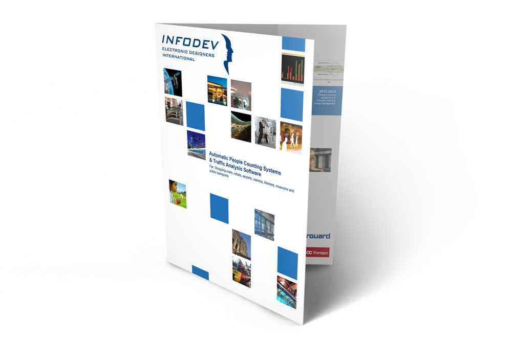 Infodev EDI pamphlet - Automatic People Counting Systems and Traffic Analysis Software