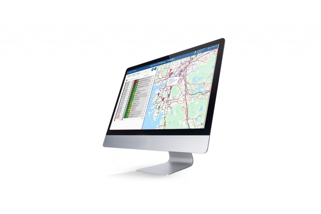 Infodev EDI software solution - Visual fleet