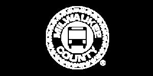 Milwaukee County Logo White