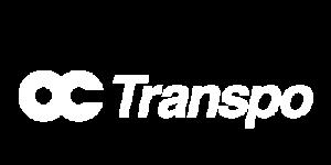 OC Transpo Logo White