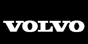 Volvo Logo White