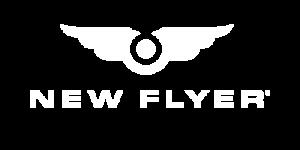 New Flyer Logo White