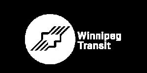 Winnipeg Transit Logo White