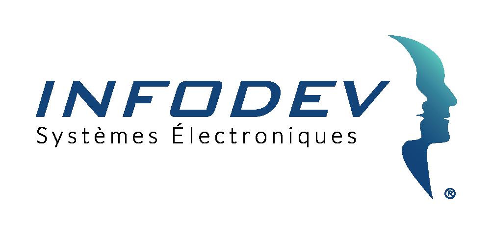 Logo INFODEV EDI Designer Systèmes Electroniques