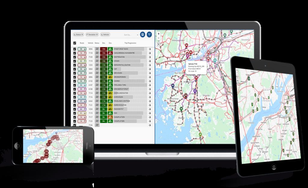Visual Fleet NG Software by Infodev EDI