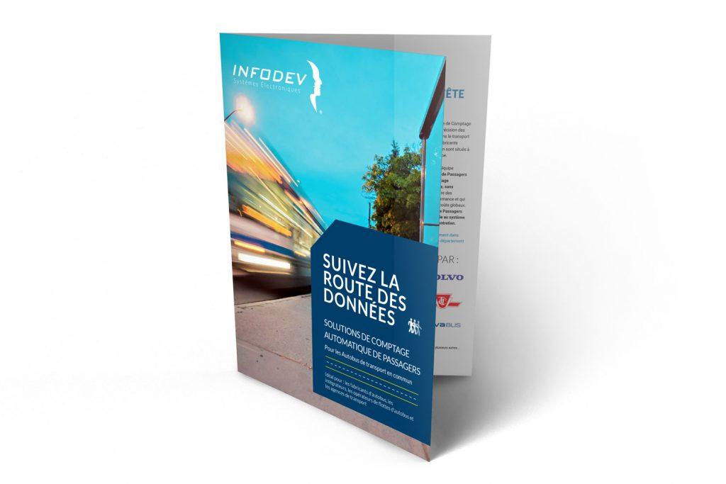 Infodev EDI Brochure pour Comptage Automatique de Passagers Bus