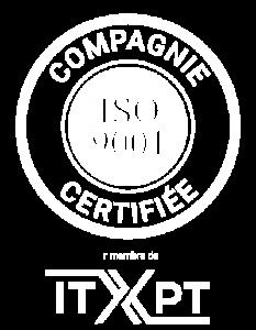 Infodev est une compagnie ISO9001 et membre de ITxPT